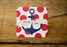 Drunk in Love   Set of 10 Nautical Paper by KellyElliottCreative