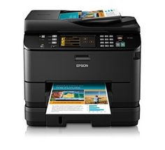 Epson WorkForce Pro WP-4540 Driver Windows, Mac, Linux Download – Conserve on Ink around 50% lower producing costs vs color laser.With Wireless manifold main cable system with the all-in-one, the WorkForce Expert WP-4540