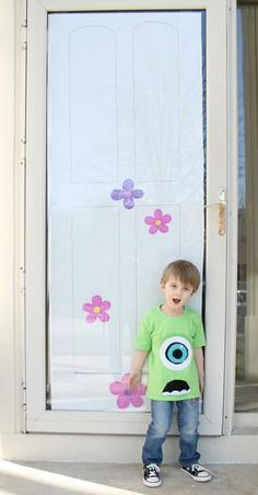 Hostess with the Mostess® - Monsters, Inc cute idea for our front door!