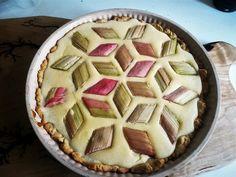 Słodka warzywna mozaika czyli tarta z rabarbarem Pie, Food, Torte, Cake, Fruit Cakes, Essen, Pies, Meals, Yemek