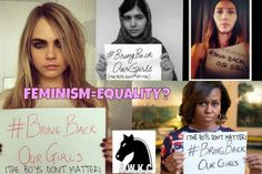 This is why feminism isn't looked at how we want it to be looked at. They boys do matter, just as much as the girls. We want equality, not to be higher than them. Please know that not all feminists are like that!