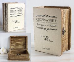 Rustic Gift Card Box Holder Keepsake Box Wooden Chest Personalized Small Wedding Card Box Custom Аdvice box Memory box Favors box