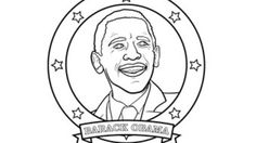 obama coloring book - Google Search | quilt squares | Pinterest