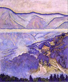 Koloman Moser – Regentag – 1914