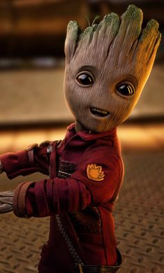 Baby Groot 2018 Artwork Mobile Wallpaper (iPhone, Android, Samsung, Pixel, Xiaomi) - Best of Wallpapers for Andriod and ios Groot Avengers, Iron Man Avengers, Cute Disney Wallpaper, Cute Cartoon Wallpapers, Guardians Of The Galaxy Vol 2, Disney Cartoon Characters, Fictional Characters, Marvel Drawings, Avengers Wallpaper