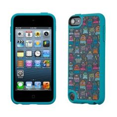 CrazeCase Speck Fabshell PowerOwl Teal iPod Touch 5 5G Case