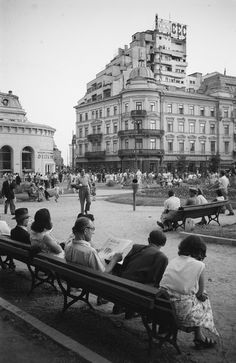 How Bucharest looked in through the eyes of German photographers Anul Nou, Little Paris, Old City, Old Pictures, Time Travel, Wonderful Places, Old Town, Beautiful World, Tourism