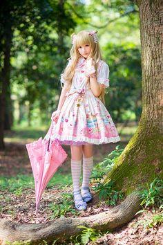 , sweet lolita, fairy kei, decora, lolita, loli, gothic lolita, pastel goth…