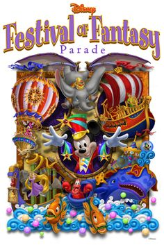 """Disney Festival of Fantasy Parade"" steps off Sunday 3/9/2014 at the Magic Kingdom Park, Walt Disney World!"