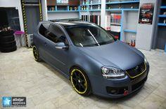 vw matte   VW Golf Gti- Matte Steel Blue  