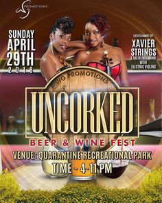 WG Promotions 'UNCORKED' Beer & Wine Fest - April 29th, 2018