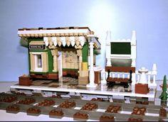 Lego Train Station, Lego Trains, Lego Construction, Lego Room, Lego House, Everyday Objects, Lego City, Legos, Vehicle