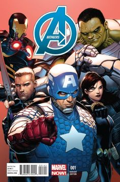 Em Andamento | Marvel NOW! – Os Vingadores # 1