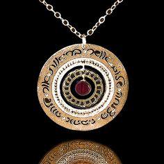 Unique Jewish  necklace By Kelka Jewelry