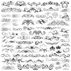 Набор вектора графические элементы для дизайна — стоковая иллюстрация #11922606