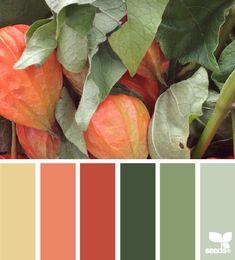 autumn hues - Voor meer kleur inspiratie kijk ook eens op http://www.wonenonline.nl/interieur-inrichten/kleuren-trends/