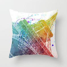 Paris je t´aime.. Throw Pillow by Nika  - $20.00