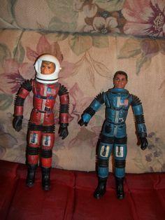 MAJOR MATT MASON Astronaut Figures 1968 Mattel Sgt Storm & Jeff Long. $75.00, via Etsy.