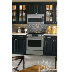 "CS975SDSS | GE Cafe™ Series 30"" Free Standing Radiant Range with Storage Drawer 