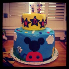 A birthday cake for my dear friend's son who was turning two. (2013)