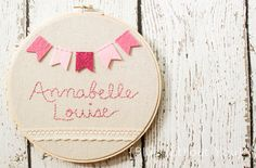 Coral & pink accents for girls nursery