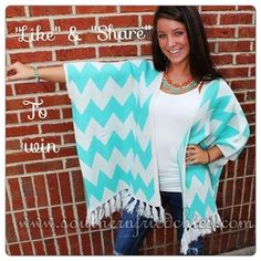 """Okay y'all, we're doing it again!! We're giving away one of our beautiful Evelyn Sweaters! Don't forget to """"SHARE"""" and """"LIKE"""" for a chance to win"""