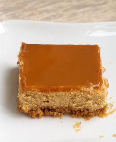 Dulce de Leche Cheesecake Bars - Bake or Break