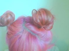 Space buns! I really love this I do it everytime