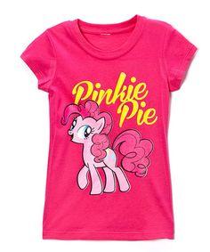Look at this #zulilyfind! Hot Pink Pinkie Pie Tee - Girls by My Little Pony #zulilyfinds