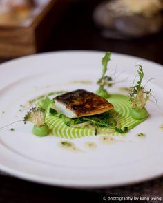 Roganic - London: Seawater cured Kentish mackerel, orache, broccoli and warm elderflower honey
