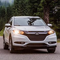 Don't be afraid to turn down a new path with your HR-V Crossover. Whether you're venturing down evergreen-lined roads, through the hills or near the ocean, the HR-V is up for the journey. Suv Honda, Honda Hrv, Crossover Suv, New Trucks, Amazing Cars, Cars And Motorcycles, Roads, Evergreen, Journey