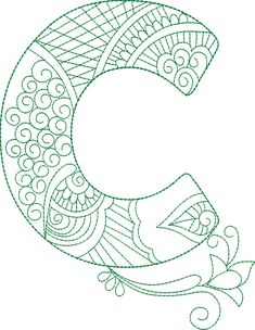 ZenDoodle Alphabet – CD – Gina Reddin Designs