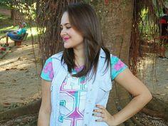 Dicas da Laiza: Look - Candy Color com Jeans
