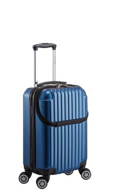 ec432e71b Euro Style Collection Ibiza Luggage Travel Bag ABS Trolley Spinner Suitcase  Blue
