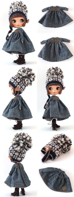 ** Blythe outfit ** Lucalily 372** : mahounote.
