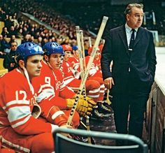 Anatoli Tarasov served either as coach or co-coach of CSKA Moscow from 1946 to 1975, except for three short breaks in 1960, 1964 and 1972. He was named coach of the Soviet national team in 1958, a post he held until 1972.