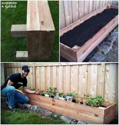 Hammers and High Heels: Memorial Day Mini Project- DIY Raised Garden Beds! Looking to make some DIY raised garden beds for your homestead or garden? Here are 12 different ways to do it! Raised Garden Bed Plans, Building A Raised Garden, Raised Flower Beds, Raised Beds, Raised Planter, Garden Boxes, Garden Container, Fence Garden, Garden Planning