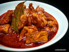 Mangalorean tangy chicken curry