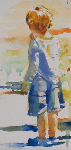 Blue Clogs - Original Fine Art for Sale - © Sue Churchgrant