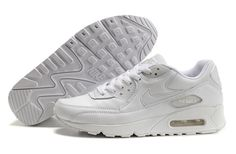 Cheap All White Nike Air Max 90 Hyperfuse Womens Trainers For Wholesale