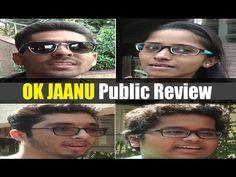 OK JAANU public review | Shraddha Kapoor, Aditya Roy Kapoor. Ok Jaanu, Roy Kapoor, Mirrored Sunglasses, Mens Sunglasses, Shraddha Kapoor, Bollywood News, Public, Youtube, Youtube Movies