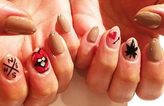 Glassy Grass // Weed-Inspired Nail Art Ideas