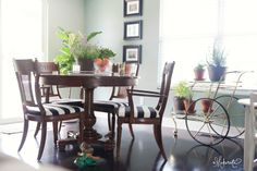 The Makerista: Making a Home: The Living and Dining Spaces' Details