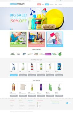 Cleaning - WooCommerce Template