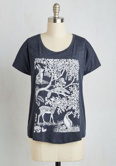 Forest Time I Saw You T-Shirt, #ModCloth