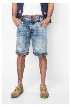 desigual-bermuda-shorts-doble-Desigual BERMUDA DOBLE denim shorts