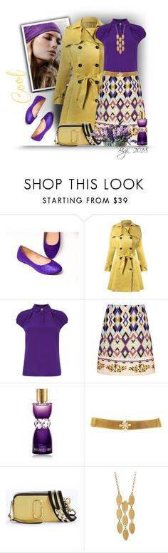 """Senza titolo #2246"" by barbara-gennari ❤ liked on Polyvore featuring Ted Baker, VIVETTA, Yves Saint Laurent, Marc Jacobs and Argento Vivo"