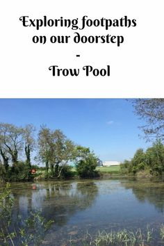 Exploring footpaths on our doorstep - Trow Pool.  A walk from Bicester taking in fields, the M40, a water tower and Trow Pool itself #oxfordshire #familywalks Family Days Out, Family Life, Water Tower, Outdoor Fun, Natural World, Fields, Exploring, Travel Inspiration