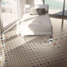 Marrakech Sierra Copper 16 Pattern Floor Tile