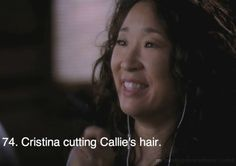 Anyone else think she looks possessed? She totally does not look like the Christina had ever seen before! Grey's Anatomy Tv Show, Grays Anatomy Tv, Grey Quotes, Favorite Tv Shows, My Favorite Things, Dark And Twisty, Sandra Oh, Cristina Yang, Youre My Person